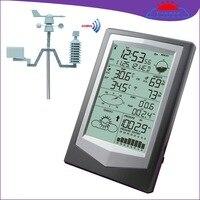 W1040 профессиональные метеостанции внутренней и наружной температуры и влажности осадков направление ветра измерения давления weat