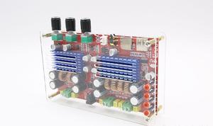 Image 4 - TDA3116 2.1 Canali Bluetooth subwoofer Bordo Amplificatore 2*60W + 100W di Potenza Stereo Amplificatore Audio Amplificatore per Basso