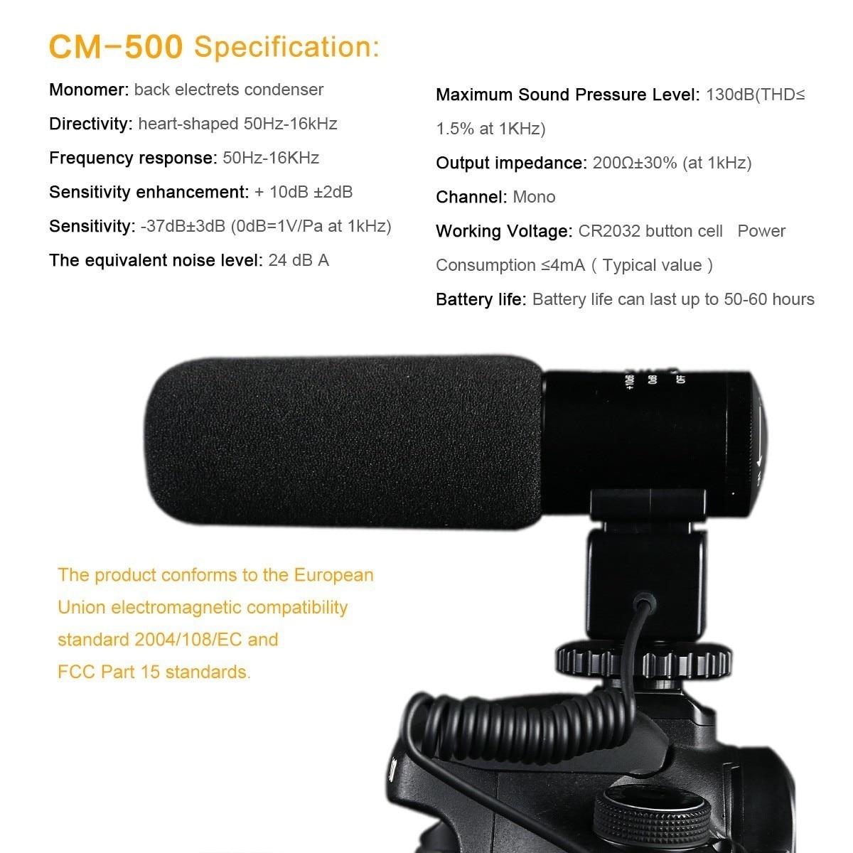 K&F CONCEPT professionaalne DSLR kaameramikrofon Intervjuu - Kaasaskantav audio ja video - Foto 3