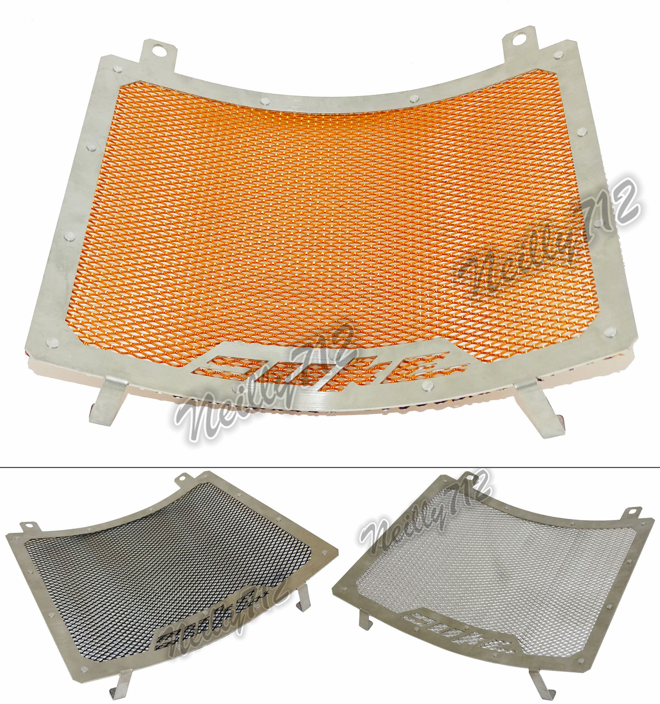 Motorcycle Radiator Protective Cover Grill Guard Grille Protector For KTM Duke 690 2012 2013 2014 2015 2016 2017 arashi radiator grille protective cover grill guard protector for suzuki gsxr1000 2009 2010 2011 2012 2013 2014 2015 2016