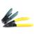 Envío libre Herramienta 7 en 1 FTTH Fibra Óptica de Empalme de fibra kits de herramienta de Fibra óptica fiber cleaver stripper + AUA-60S y bolsa de herramientas Kit