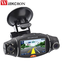 """Видеорегистраторы для автомобилей тире Камера 2.7 """"DVR Камера R310 GPS Logger инфракрасного Full HD 1080 P видео Регистраторы Видеорегистраторы для автомобилей Камера g датчик Ночное видение"""