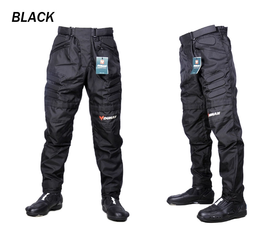 moto pants mens. online shop motorcycle pants men pantalones moto motocross red blue black with knee guards duhan dk002 m l xl xxl | aliexpress mobile mens s