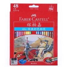 Faber Castell Color Pencil Oily Pastel Pencils 12/24/36 Colors Set Castle Series Art Supplies Colored Pencils Student Stationery
