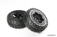 baja rear knobby tire set for 5T truck 95074