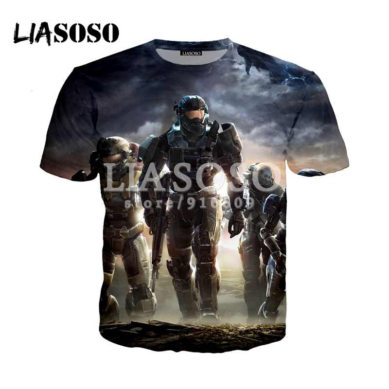 Detail Feedback Questions about LIASOSO Game Halo UNSC T