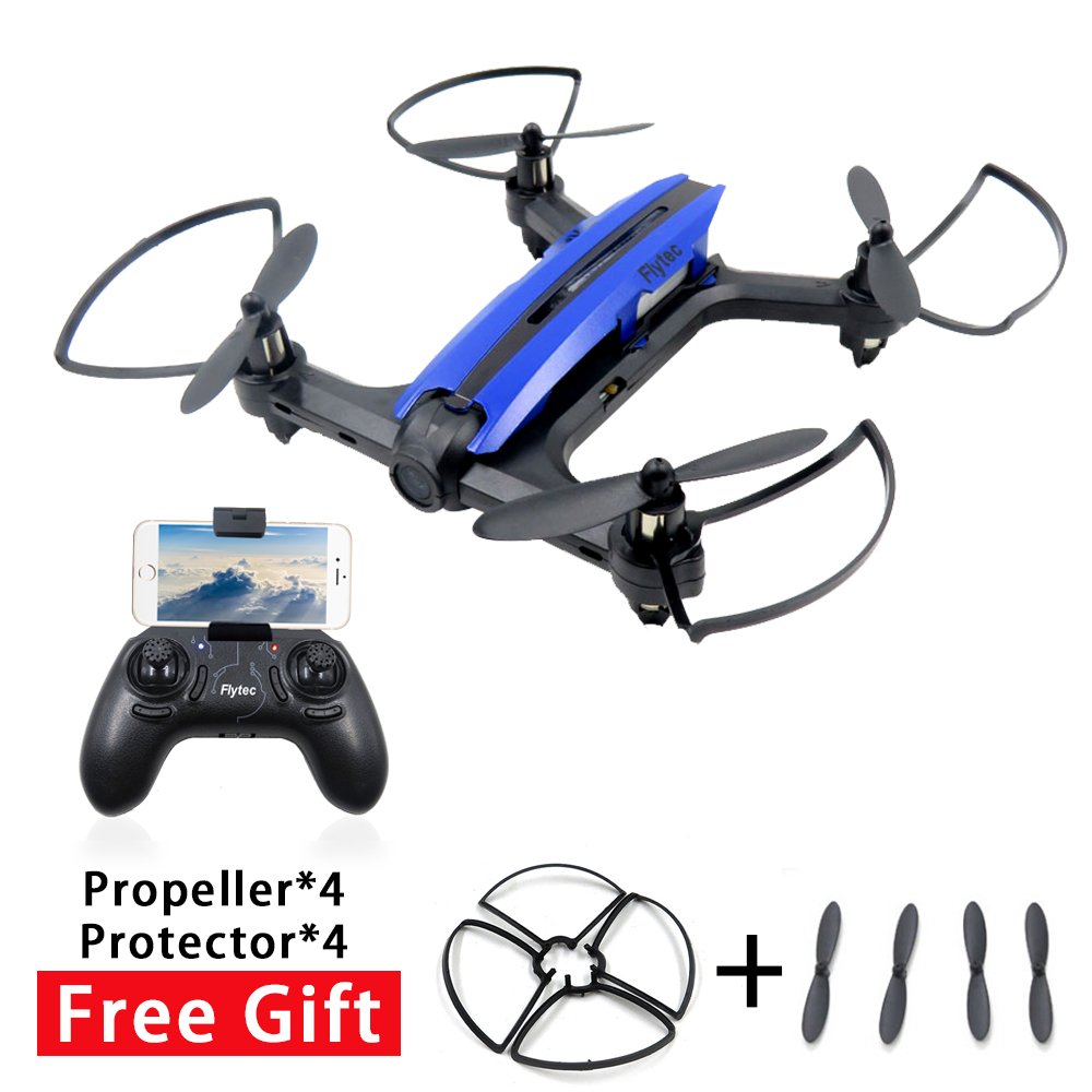 Flytec T18D RC Quadcopter Mini Racing Drone 4CH 6 axis UFO with Wifi FPV 720P HD Camera Height Hold Mode selfie Helicopter Toys flytec t13 3d 2 4g 4ch 6 axis gyro mini foldable rc drone with wifi fpv 720p wide angle camera high hold mode rc quadcopter