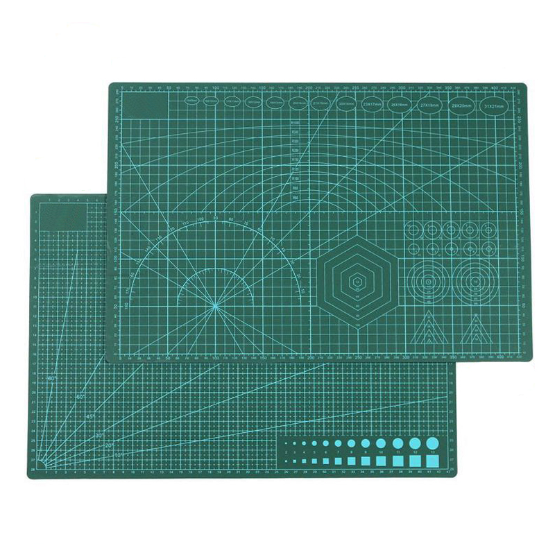 A3 Self Healing Rotary Cutting Mat Pad Cutting Board Double Sided Manual Diy Tool For Crafts, Quilting, Sewing, Scrapbooking