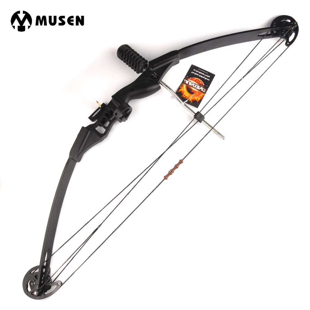 30-40lbs Archery Compound Bow for Youth Adult Outdoor Hunting Shooting Fishing Target Practice Sport Games Slingshot Bow Set archery recurve bow fishing spincast reel for compound bow shooting outdoor tool fish hunting slingshot 6 8mm