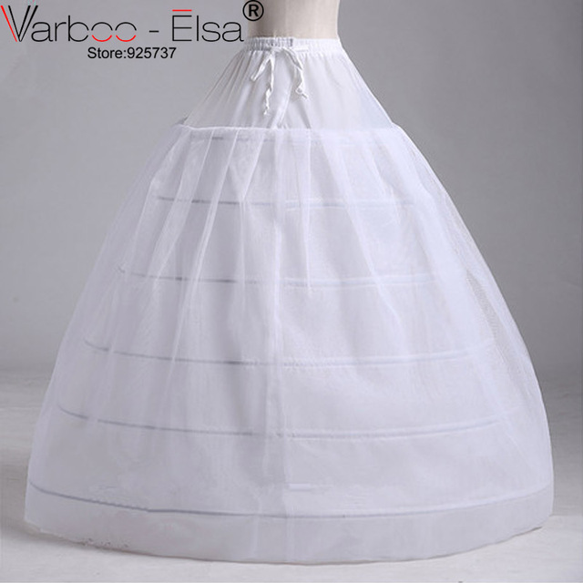 Enaguas Quinceanera Cheap Ball Gown 6 Hoops Crinoline Longue Hoop Skirt De Faldas Petticoats