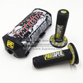 Dirt bike Metal Mulisha PROTECTOR Handlebar Breast Pad & MOTOCROSS BAR PROTAPER handle grips Black yellow Red Blue