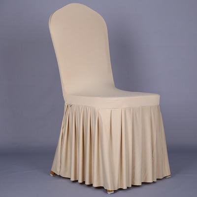 Pločaste suknje od elastične presvlake za stolice navlake za banket - Tekstil za kućanstvo - Foto 6