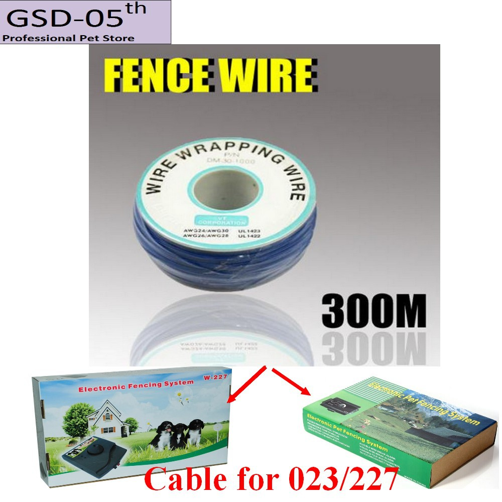underground electric fence wire