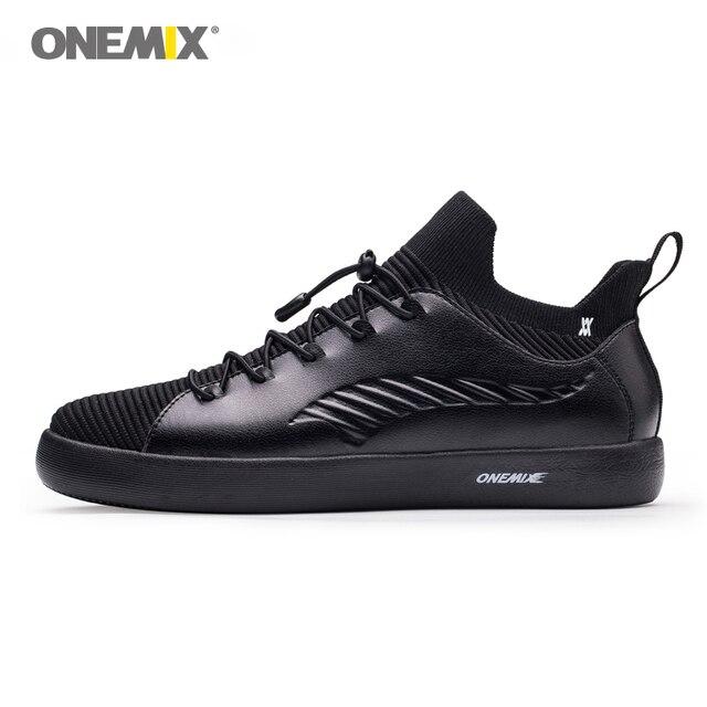 ONEMIX/обувь для скейтбординга, мужские кроссовки из мягкой микрофибры, женская обувь с эластичной подошвой, обувь для прогулок, европейские размеры 35-45
