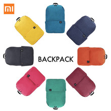 Original Xiaomi Color Small Backpack 10L Big Capacity Anti Water Bag Mi 8 Color Lovers Couple Backpack For Student Younth Man