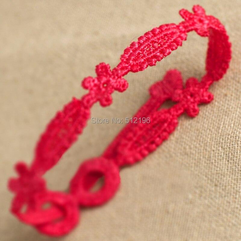 abl hechos a mano multicolor italia encaje floral flor macrame crochet amistad