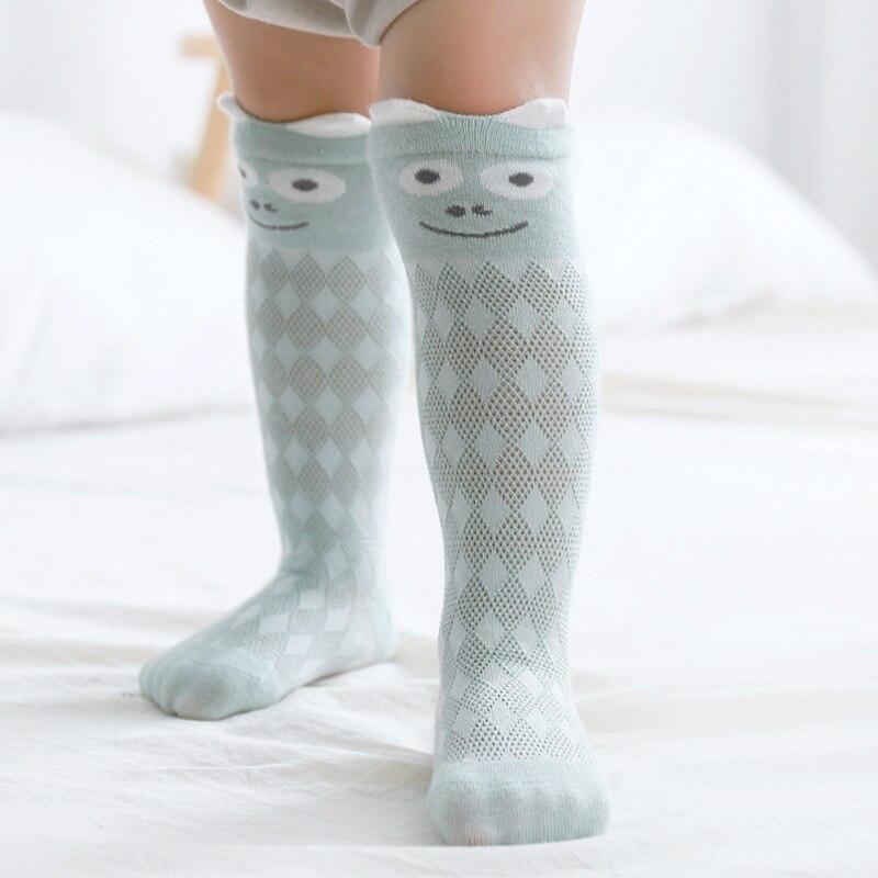 High Quality HOT Newborn Toddler Baby Cotton Socks Summer Long Warmer Sock Littl