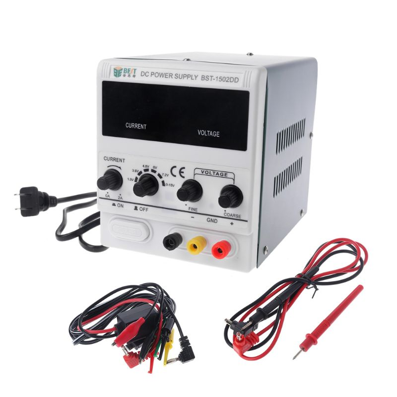 1502DD 15V 2A DC Power Supply Phone Repair LED Stable Voltage Current Regulator1502DD 15V 2A DC Power Supply Phone Repair LED Stable Voltage Current Regulator