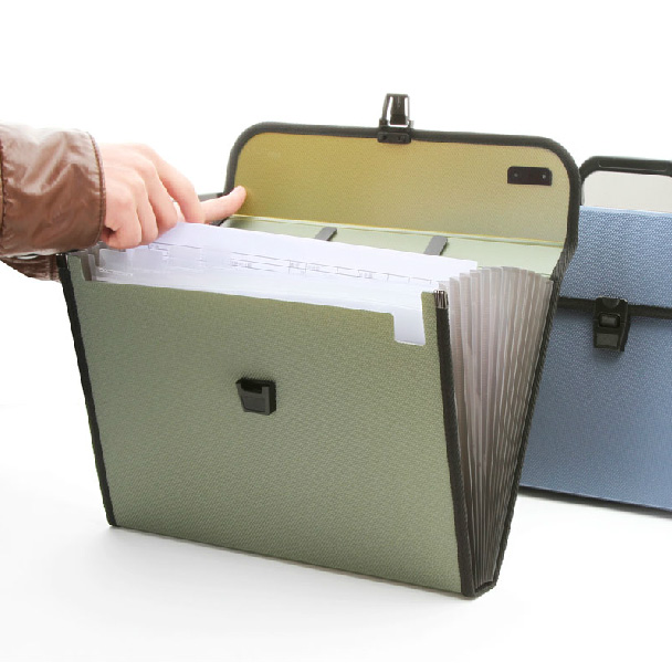 Fashion Portable Expanding File Folder A4 Paper Folder For Documents Quality Office Document Briefcase духовой шкаф электрический bosch hbn211e4