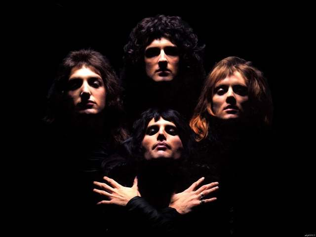 US $10 56 18% OFF|Free Shipping One Piece Wallpaper of QUEEN Bohemian  Rhapsody,Hot Retro Poly glue Print Poster,HD Wall Sticker, Size 20x30  U3017-in