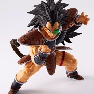 Dragonball Z Sagas Dragon Ball Super Saiyan SonGoku Son Goku Raditz Radish Kakarotto 18CM PVC Action Figure Model Kids Gift