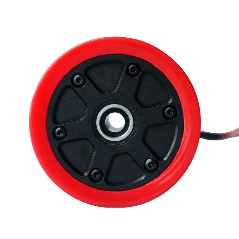 Roues électriques sans brosse de moteur de planche à roulettes de 75mm 450W Kits roues électriques de moteur pour la planche à roulettes Longboard e-skateboard