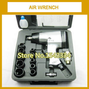 33 KG Single hammer air Impact Wrench Pneumatic wrench kit