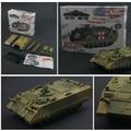 (8 unids/lote) 1: 72 4D Ensamblado Modelo de Tanque Militar Modelo de Tanque Militar Rompecabezas Figura para el Regalo de Niño Juguetes Educativos