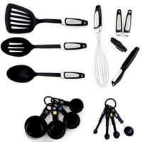 EZLIFE Heat Resistant Silicone Cooking Tool Sets Nonstick Cooking Tools Kitchen & Baking Tool Kit Utensils Spoon 14pcs LPF3539