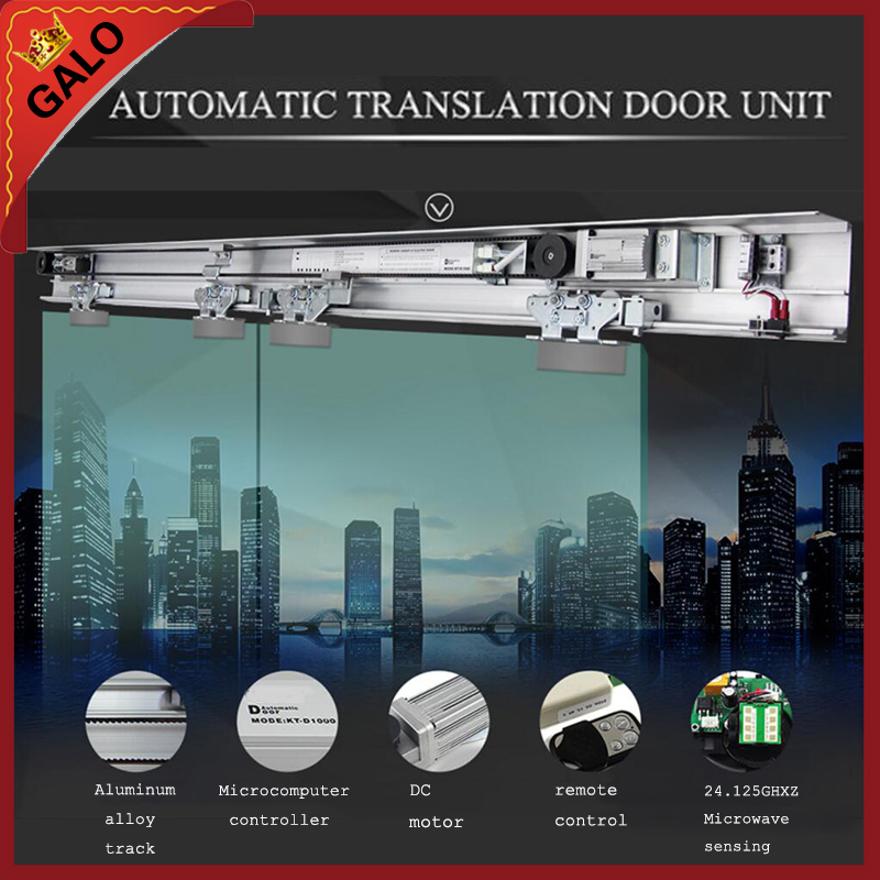 Galo Open Glass-door Use AUTOMATIC TRANSLATION DOOR UNIT Electric Sliding Door /sliding Gate
