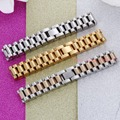 Huge Heavy Men's Silver & Gold Watch Chain Bracelet Bangle Fashion Jewelry 316L Stainless Steel Material 3 Styles To Choose