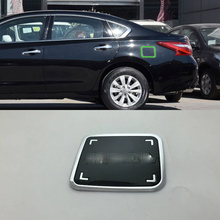 Car Accessories Exterior ABS Oil Fuel Gas Tank Cap Cover Pad Sticker Trim For Nissan Altima 2016 Styling