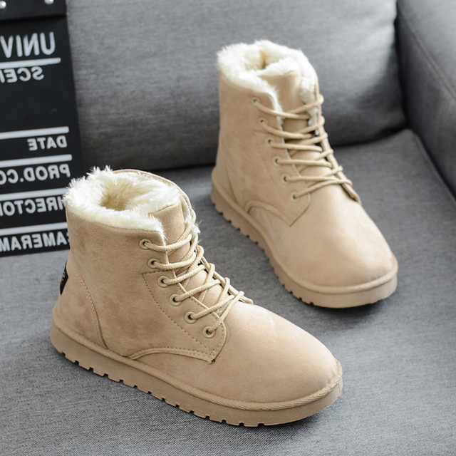 ba839213a30 2015 fashion winter UGC shoes women's winter suede boots for men ladies  snow boot botines mujer chaussure femme DZ50