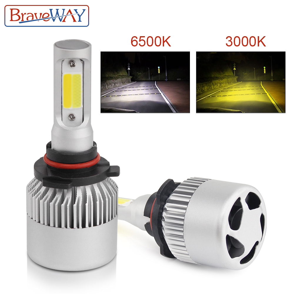Objective 9006 Led Mini Car Headlight H1 H7 H8 H9 H11 9005 9006 9012 For Auto 12v Led Lamp 36w 8000lm Adapt To All Models Automobiles & Motorcycles