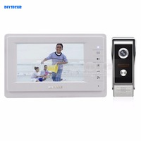 DIYSECUR 700TVLine IR Camera 7 Inch TFT Color LCD Display Video Door Phone Intercom Doorbell IR