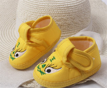 Amazing 0-12 Month Baby Boy Girls Crib Shoes Infant Crib Cotton Fall and Winter Baby Shoes Soft Sole Free Shipping (s3-5)