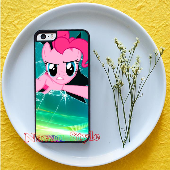 My Little Pony pinkie pie face top selling phone case cover for iphone 4 4s 5 5s se 5c 6 6 plus 6s 6s plus 7 7 plus*#G4753BR