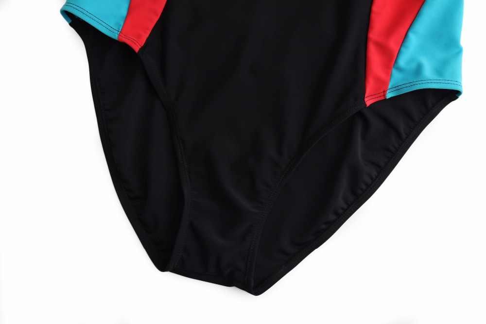 Merk Arena Een Stuk Badpakken Sport Zwemmen Pak voor Vrouwen Badmode Plus Size Cross Terug Training Strand Badpak Trikini