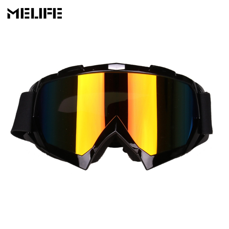 MELIFE New Motocross Goggles Ski Glasses Cycling Off Road Helmet glasses masque motocross goggle ski windproof eyewears