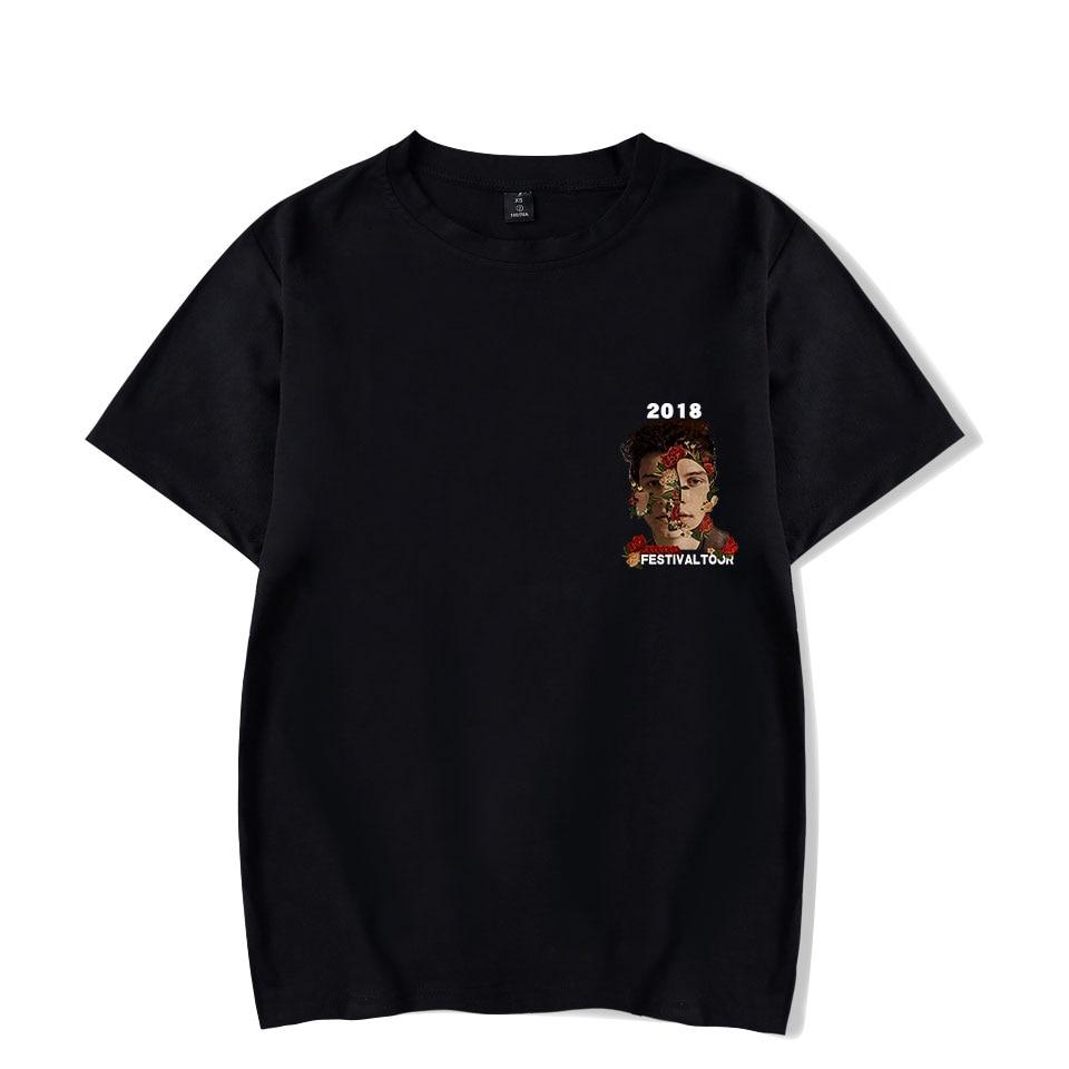 93df0797 SHAWN MENDES T Shirt for Men Women Unisex T-shirt Short Sleeve Summer O-