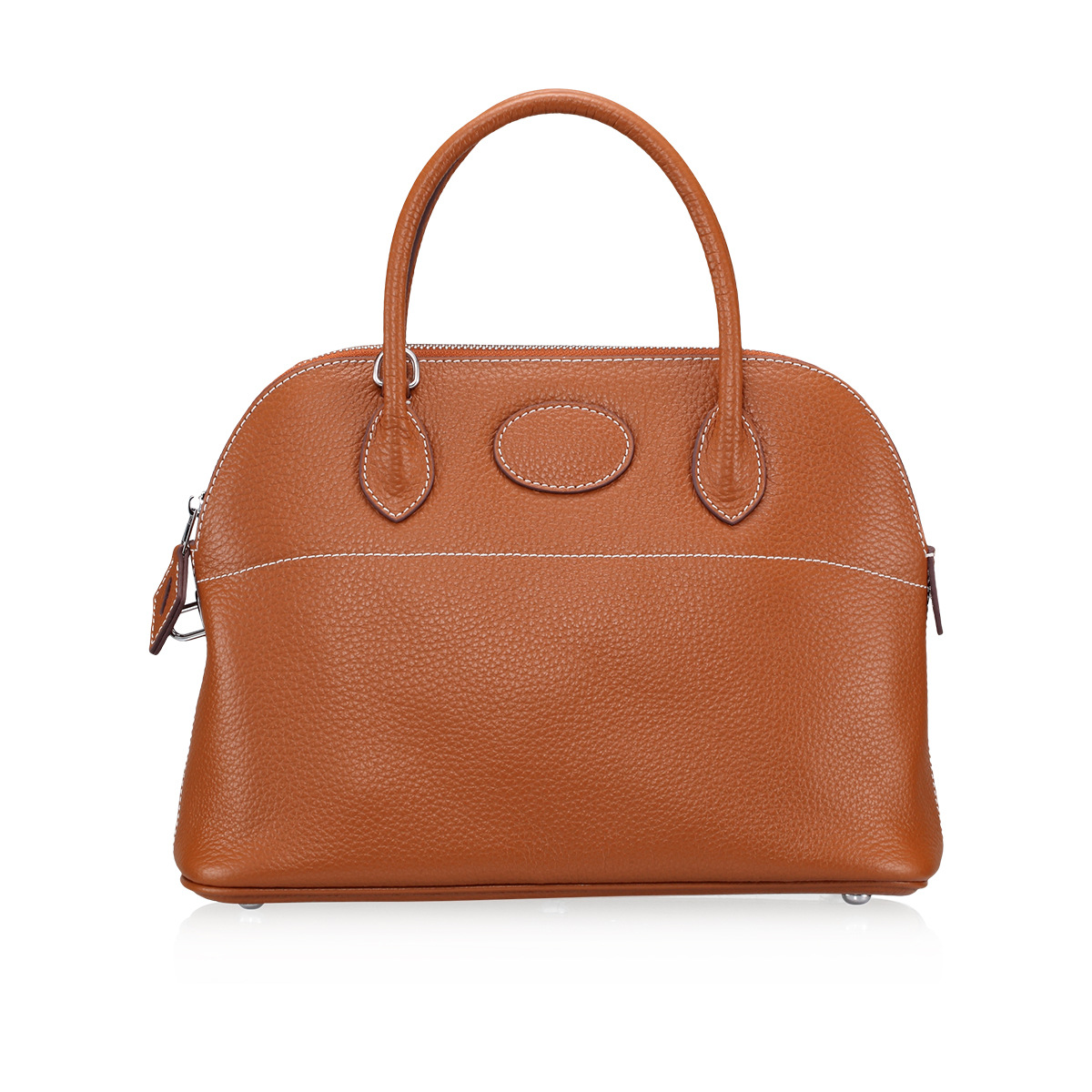 Fashion Litchi pattern The first layer of leather commute commuter shell bag lock shoulder diagonal wild female bag fashion litchi pattern the first layer of leather commute commuter shell bag lock shoulder diagonal wild female bag