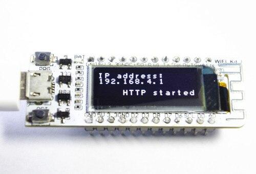 2PCS WIFI ESP8266 0.91 Inch Blue OLED Display WIFI Kit 32 IOT Development Board for Arduino produinocy7c68013a 56 usb logic analyzer development board for arduino blue black