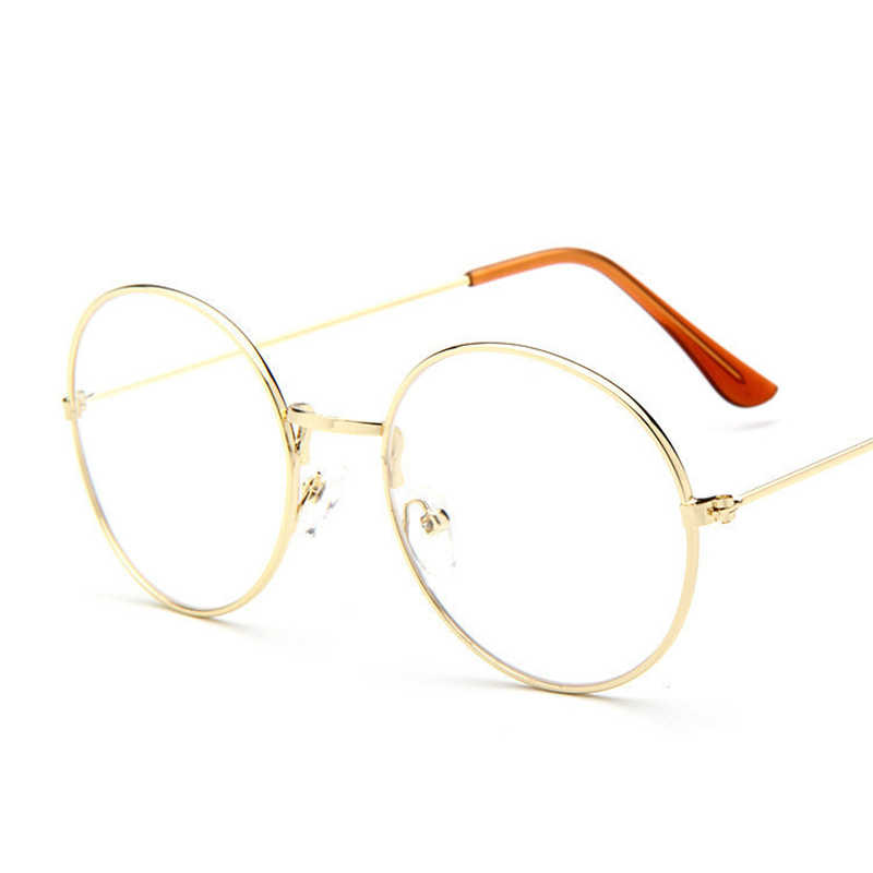 8c9de998f5d79 ... MOLNIYA Cheap small round nerd glasses clear lens unisex gold round  metal frame glasses frame optical ...