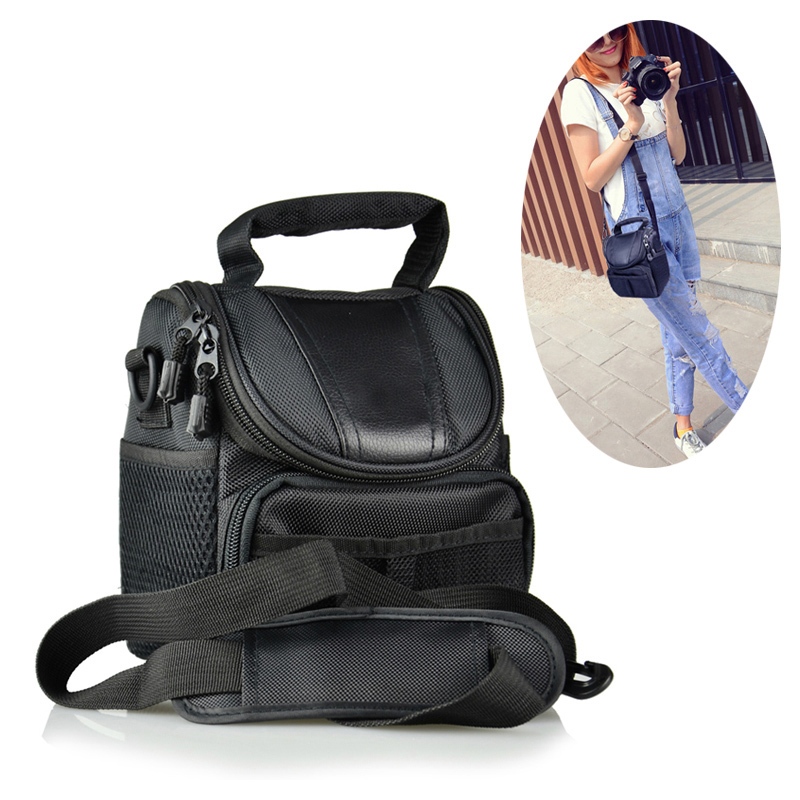 Portable Camera Bag For <font><b>Samsung</b></font> NX3300 NX3000 NX2000 NX1000 NX1100 NX500 <font><b>WB1100F</b></font> WB2100 NX300 NX20 GN100 NX1 NX30 case pouch image