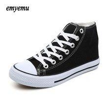 New Brand Unisex Men Women high Style Canvas Shoes Clasic
