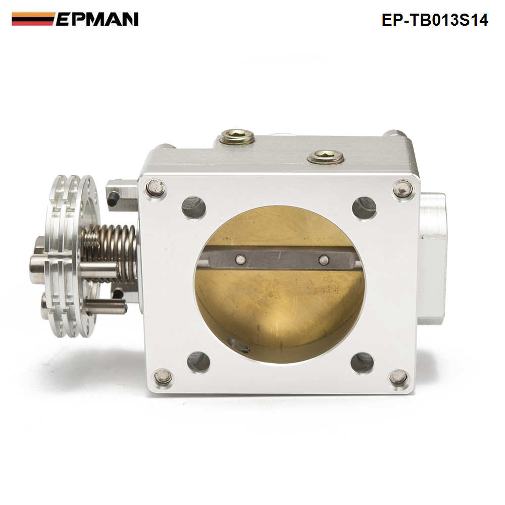 Throttle Body 70MM For Nissan Silvia SR20 S13 S14 S15 SR20DET 200SX 240SX Silver EP TB013S14-in Throttle Body from Automobiles & Motorcycles    3