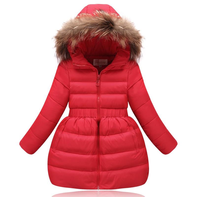 girls jacket winter fur hood - ChinaPrices.net