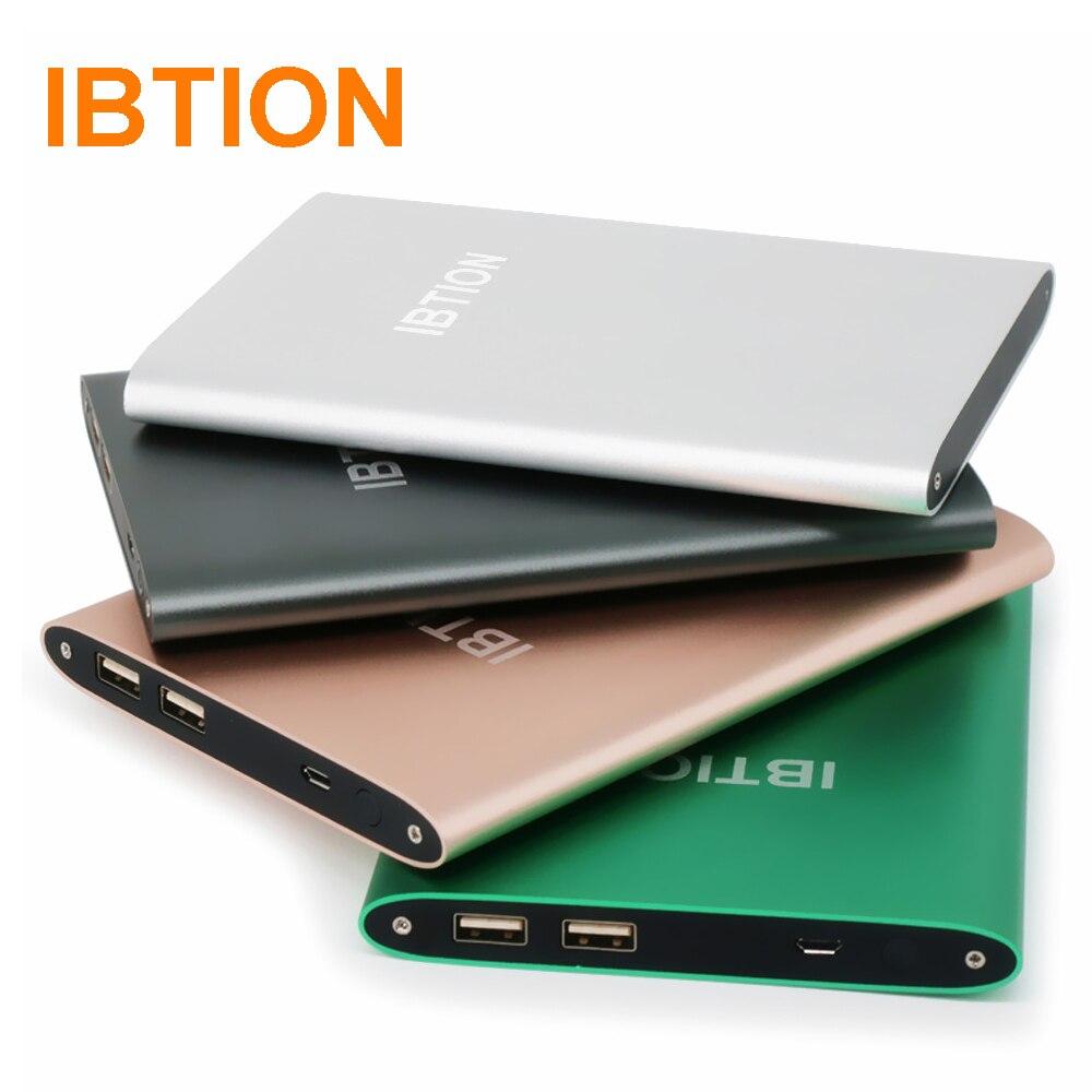 imágenes para Original ibtion alta calidad banco de la energía 15000 mah cargador de batería portátil para teléfonos celulares y tabletas
