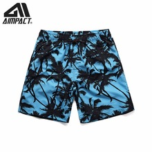 AIMPACT Quick Dry Boardshorts for Men Casual Surf Beach Summer Sport Running Hybird