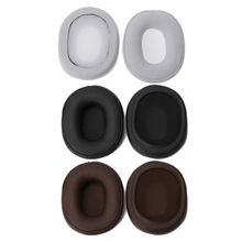 Replace Foam Ear Pads Cushions for Audio Technica ATH-SR5 SR5BT MSR5 Headphones Protein Leather Earpads